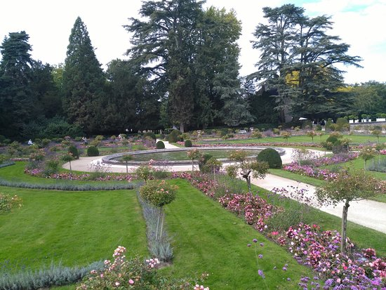 Le jardin de catherine de m dicis bild von schloss for Catherine de jardin