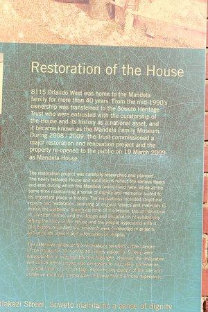 Johannesburg, Güney Afrika: Mandela House