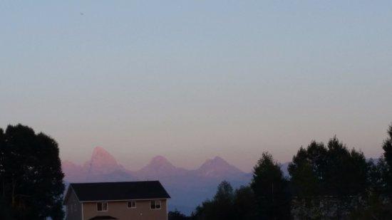 Tetonia, Айдахо: View of the Tetons