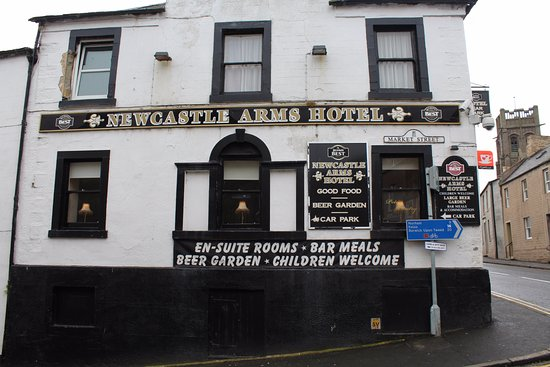 Coldstream, UK: Newcastle Arms Hotel