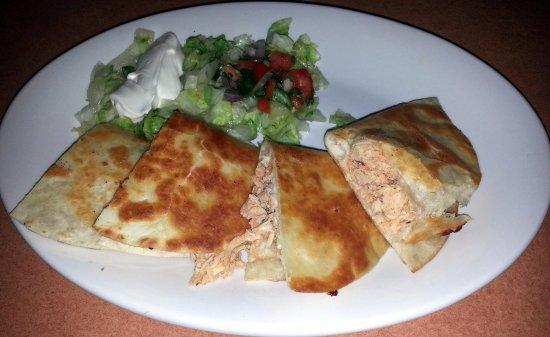 Rosemont, IL: two chicken quesadillas