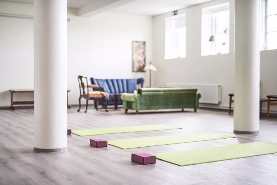 Laugarvatn, İzlanda: Yoga center at Heradsskolinn