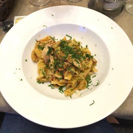Wepion, Belgium: Lasagnettes alla Boscaiola