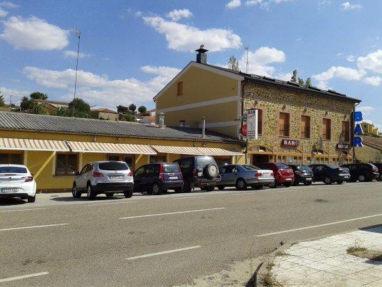 Casa Rural Restaurante Campero: Fachada principal