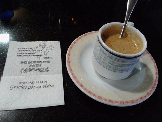 Casa Rural Restaurante Campero: Café