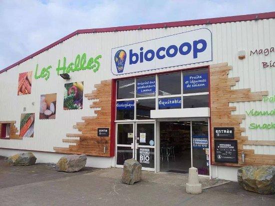 Saint Herblain, Γαλλία: Les Halles Biocoop