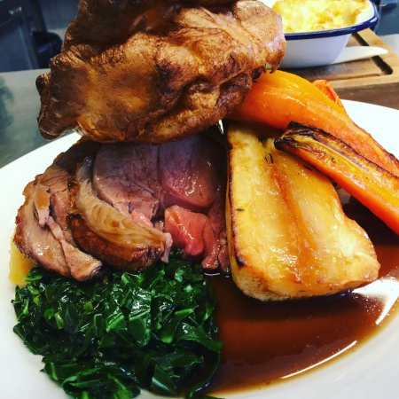Didcot, UK: Sunday: Roast lamb with all the trimmings