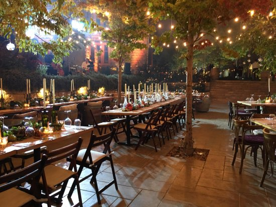 Plan a romantic wedding under the stars - Picture of Le Telegraphe ...