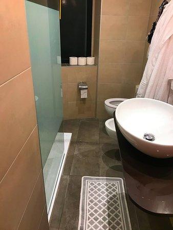 bagno piccolissimo - Picture of Terme Milano Hotel, Abano Terme ...