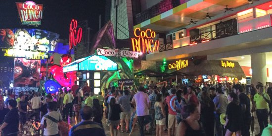 Coco Bongo Nightclub In Cancun Mexico Picture Of Coco