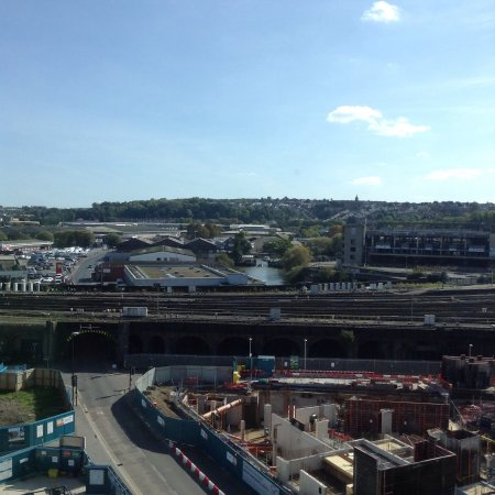 Ibis Bristol Temple Meads Quay: Great views