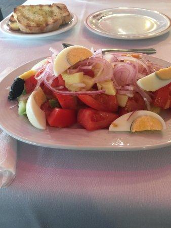 Ном Салоники, Греция: Cretan salad