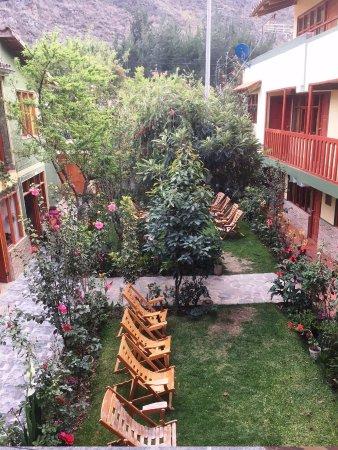 Inka Paradise Hotel: Courtyard at Inka Paradise