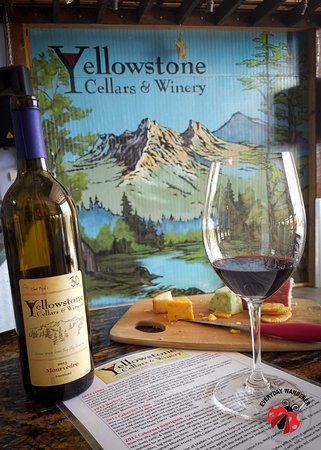 Billings, MT: A cheese platter + Yellowstone wine = a great summer afternoon