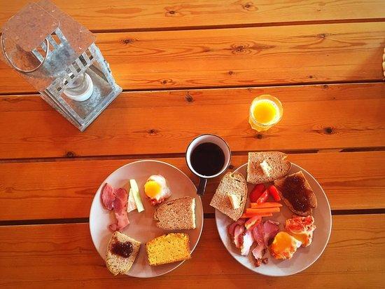 Eumelia Organic Agrotourism Farm & Guesthouse: Πρωινό
