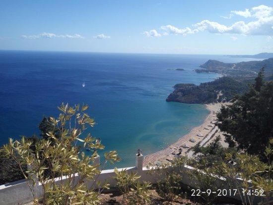 Kolimbia, Grèce : με θέα την παραλία τσαμπίκα