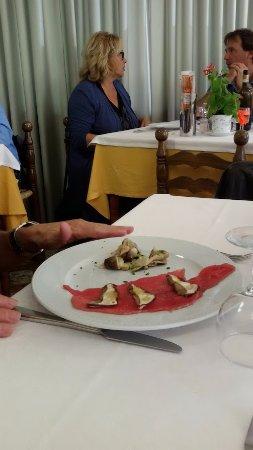 Bardineto, İtalya: Albeisa con porcini
