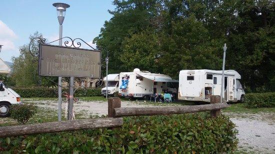 L'area Camper di Bardineto a 100 metri dallo' Hotel Ristorante