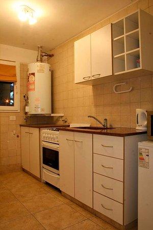 Departamentos Bariloche: cozinha