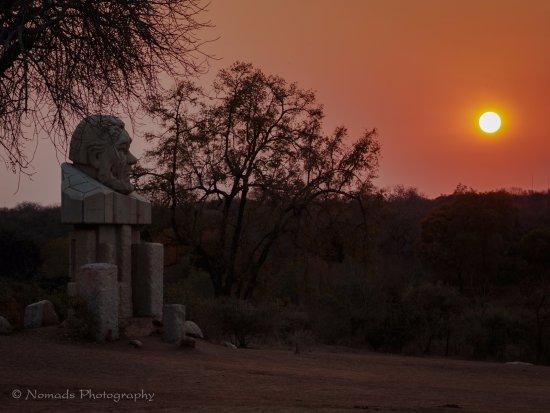 Burchell's Bush Lodge : Paul Kruger gate, entry to the Kruger National Park