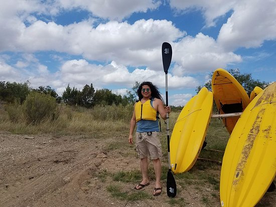 Colorado City, TX: King Leo, the protector of all Kayaks