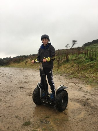 Gatehouse of Fleet, UK: Segway adventure for our kids .... amazing day and good prices