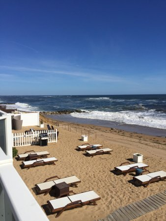 Blue - Inn on the Beach: The view from our king suite