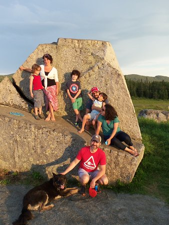 Sentinel Rock State Park: July 2016...fun on the rock.