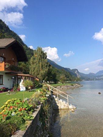 Abersee, Autriche : Bild vom Garten des Hauses aus