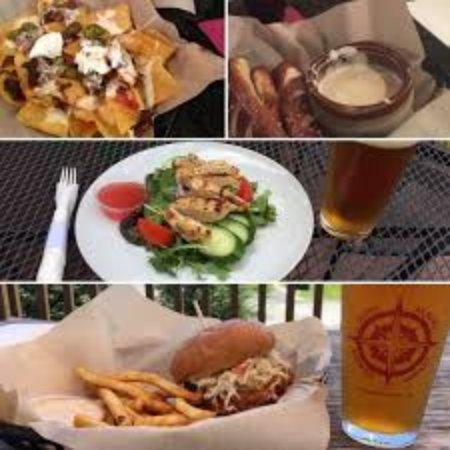 Уэйнсборо, Вирджиния: Nachos, Beer Cheese and Pretzels, Salads, Sandwiches, and Burgers.