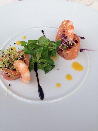 Saint-Cannat, France: Maki de saumon