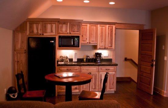 Woodland Park, CO: Kitchen area of the Loft Suite