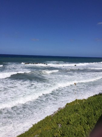 Sun Camero Beach Apartments: Вид на море
