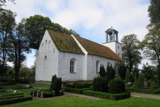 Aeroskobing, Danimarka: Set fra nordøst