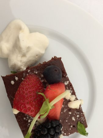 Risskov, Danmark: Lækker dessert