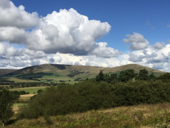Dolphinholme, UK: Bowland Fells nearby