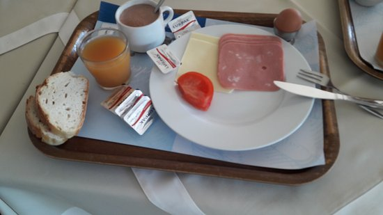 Lygia, Griechenland: Przykładowe śniadanie