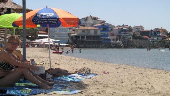 Lygia, กรีซ: Plaża 500 m od hotelu