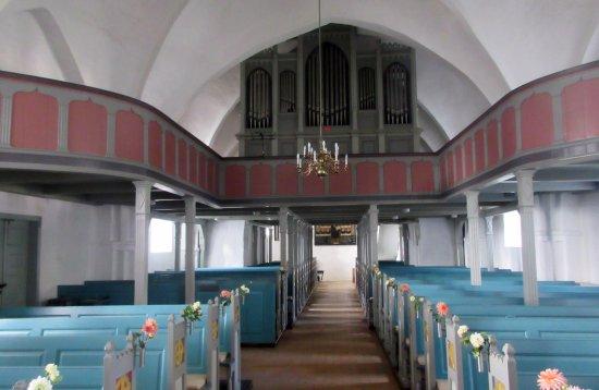 Rise Kirke: Orgelet