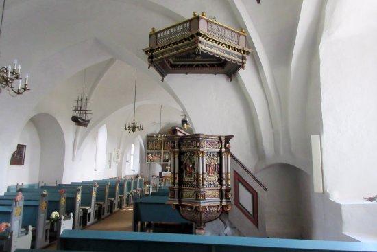 Rise Kirke: Prædikestolen