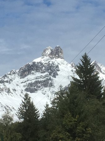 Pension Wieser: Bischofsmütze Berg in Filzmoos/ Austria