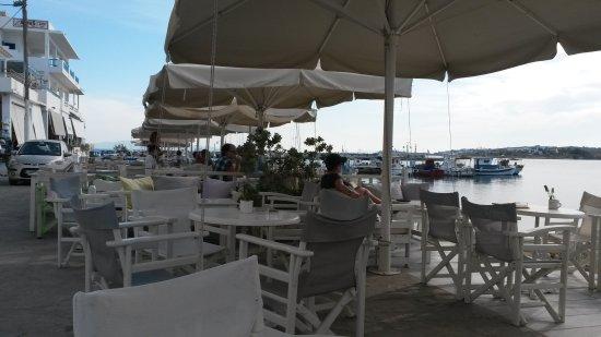 Piso Livadi, Greece: Anchorage Cafe Bar
