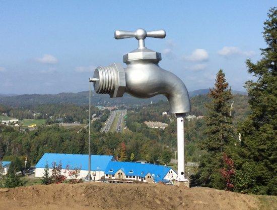 Le fameux robinet de Piedmont