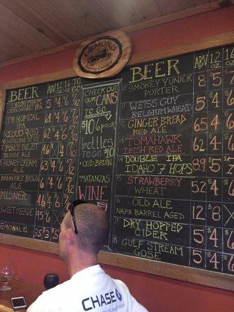 Ormond Beach, FL: The extensive beer list