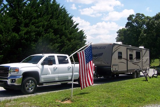Mayberry Campground: heading home