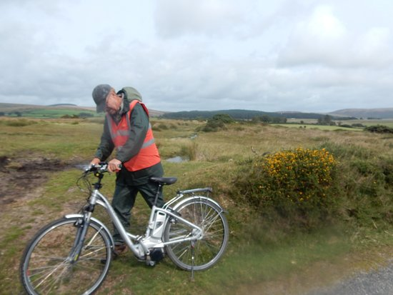 Ashburton, UK: Getting to grips with the E Bike