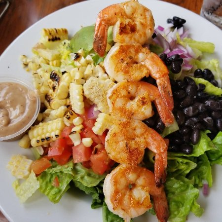 Cajun Shrimp Salad in Seal Beach