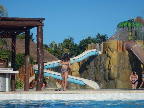 Grand Palladium Kantenah Resort & Spa: Kids Pool with Slides