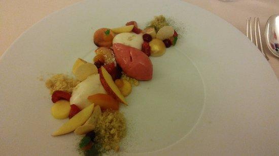 Hostellerie Saint-Nicolas: verfijnd dessert
