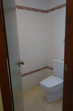 Parador de Cuenca: Toilet (off bathroom)